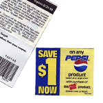 Folding Instant Redeemable Coupons